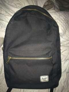 Herschel black backpack