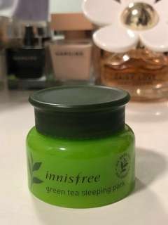 innisfree~Green tea sleeping pack 20ml