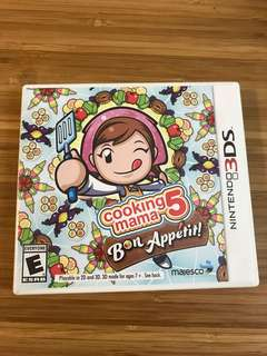 Cooking mama 5 3DS