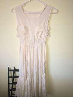 Vintage Marilyn dress cream 8