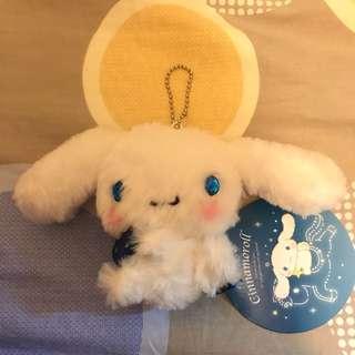 日本Sanrio肉桂狗閃閃眼睛吊飾 Japan Sanrio Cinnamoroll shiny eyes keychain