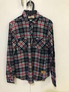 FLANNEL BY TRAFFIC bukan pull and bear h&m zara