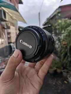 Lens + flash