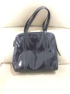 Repriced: Prada Patent Leather Bag