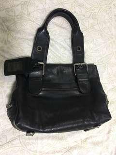 Repriced: Chloe Black Leather Bag