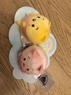 [全新低放] 香港迪士尼 大鼻鋼牙 hk Disneyland Winnie The Pooh & 豬仔