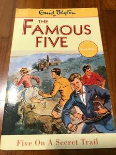 The Famous Five -Five on a secret trail