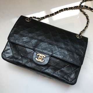 Chanel classic vintage flap bag 可側孭或斜孭袋