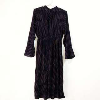 (NEW!) Vintage Style Polka Dot Dress
