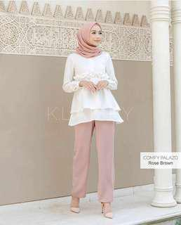 Celana Comfy Palazo Wearing Klamby TER-BESTSELLER