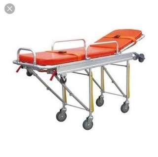 rush sale! 8 wheeled stretcher