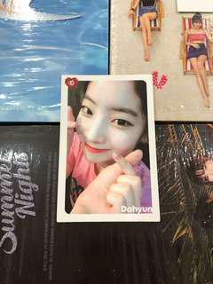 (WTT) TWICE Dahyun What Is Love Photocard