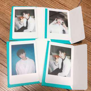 Wanna One Summer Popup Store Jaehwan Polaroid