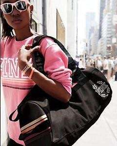 Victoria secret duffel gym bag