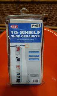 10格鞋子收納掛袋