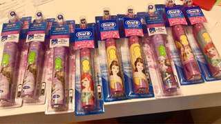 現貨 迪士尼兒童電動牙刷 兒童刷牙神器 公主系列