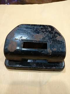Vintage metal hole punch