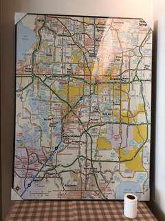 Map Canvas art (new)