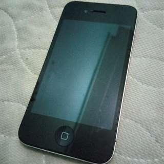 Preloved Iphone 4 with Nokia 3310 freebie
