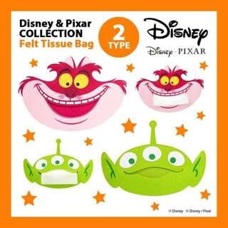 :::OH YEAH!:::日本🇯🇵迪士尼大頭造型面紙套 三眼怪妙妙貓 玩具總動員愛麗絲夢遊仙境 生日禮物交換禮物