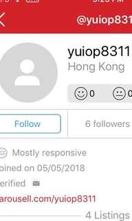 小心此賣家 yuiop8311 - 約約下交收之後人間蒸發