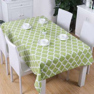 🚚 Canvas table cloth - free delivery