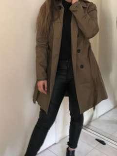 🤪RRP: Over $120 Portmans Khaki coat