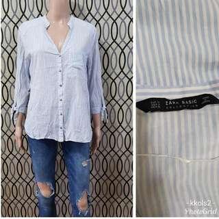 Zara Basic Stripes Blouse