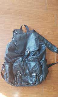 Pleather Backpack