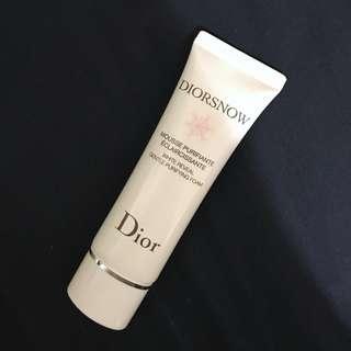 Dior 雪晶靈潔顏乳 洗面乳