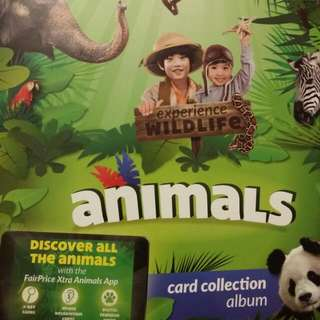 Fairprice Xtra Animals Card