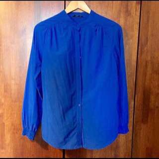 Rope Royal Blue Blouse Top