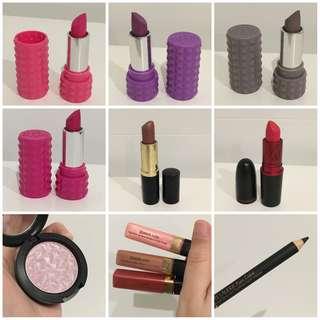High End Lipstick & Eye Makeup