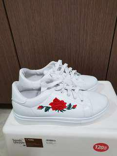 Brand new Rose White Shoes