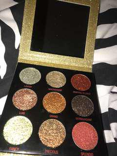 Revolution glitter palette