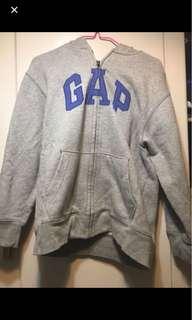 GAp灰色logo外套