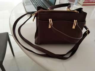 Small tote bag with sling