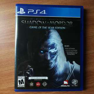 Shadow of mordor (game of the year - all dlc)