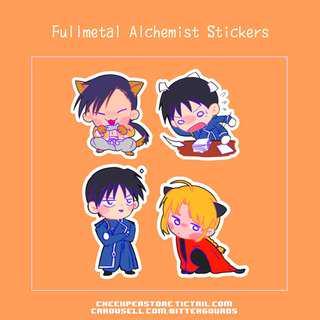 🚚 Fullmetal Alchemist stickers
