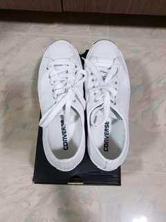 Converse White leather shoes Jack Purcell