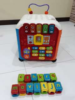 V Tech children Toy - Discovery Cube