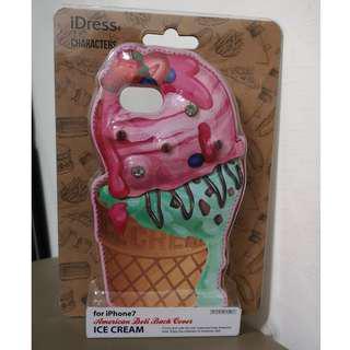 🚚 免運!! 現貨 蘋果APPLE I7 冰淇淋 ICE CREAM 手機殼 IPHONE7 手機殼 手機套 全新