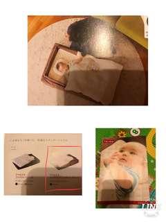 可攜式BB分隔床 (購自日本)