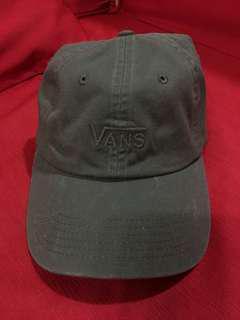 Vans-軍綠刷舊老帽