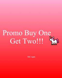 Promo Buy One Get Two