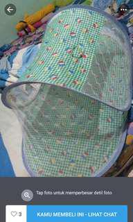kelambu bayi & selimut ( take all )