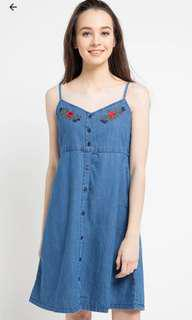 Hush puppies overall jeans