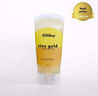 PO Stay gold - spot peel off mask