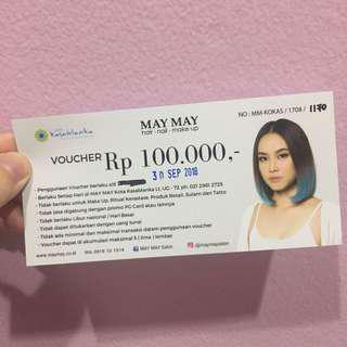voucher salon may may