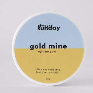 PO Gold mine - exfoliating gel